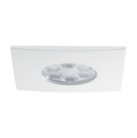 JCC FGLED6 Square Dimmable LED Downlight Cool White JC94573WH White