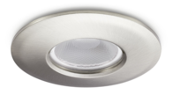 JCC Hybrid 9 Interchangeable Dimmable Brushed Nickel LED Downlight Cool White JC99901BN