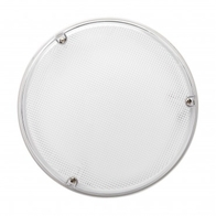JCC JC23201WPR RadiaLED 14W Bulkhead White Prismatic