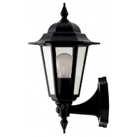 JCC JC32012BLK Montella Lantern Bottom Arm & PIR Detector Black