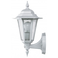 JCC JC32012WH Montella Lantern Bottom Arm & PIR White