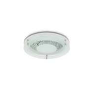 JCC JC5110 Coral Downlight Rim White with Dropped Glass