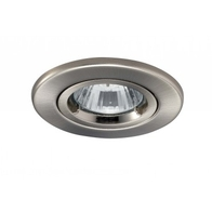 JCC FG2 JC94113BN Fireguard Downlight GU10 Twist & Lock Brushed Nickel