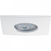 JCC FGLED3 Square LED Dimmable Downlight White Cool White JC94312WH