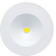JCC Lighting Redcessed 3W Remote LED Emergency Downlight JC50306
