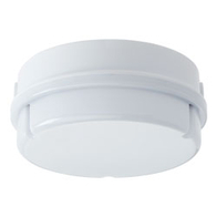 JCC RadiaLED JC23211WOP LED Bulkhead 14W with Integral LED & Microwave Sensor Opal Diffuser