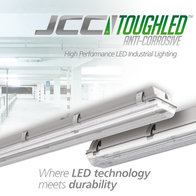 JCC ToughLED Anti-Corrosive LED Twin Emergency Fitting 1800mm 118W JC71508