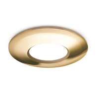 JCC V50 LED Downlight Twist & Lock Brushed Brass Bezel JC1006/BR