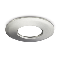 JCC V50 LED Downlight Twist & Lock Brushed Nickel Bezel JC1006/BN