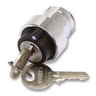 Key Switch 3 Position Maintained Key Out Centre Position NP2-BG3
