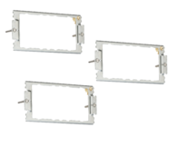 Knightsbridge 12G Mounting Frame CUG2F (Triple Pack)