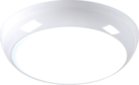 Knightsbridge 230V IP44 14W LED Bulkhead with Sensor/Dimming Function 6000K TPB14LEDA