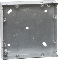 Knightsbridge 6-8G 35mm Galvanised Steel Box GDSG68G