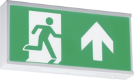 Knightsbridge EMRUN 230V IP20 Wall Mounted LED Emergency Exit sign maintained/non-maintained