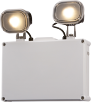 Knightsbridge EMTWIN65 IP65 LED Twin Spot Emergency Light
