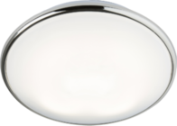 Knightsbridge IP20 28W 2D HF Emergency Bulkhead with Opal Diffuser and Chrome Base TP28W2DCEMHF