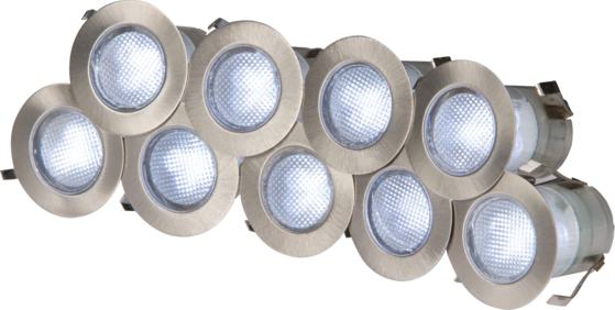 Knightsbridge KIT16W LED Decking Lights White image 1