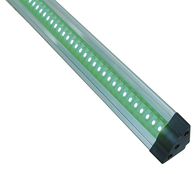 Knightsbridge LED Strip Lights Ultra Compact Triangular Linkable Dimmable 3 Watt GREEN LEDT3WG