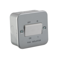 Knightsbridge Metal Clad M1100 Fan Isolator Switch