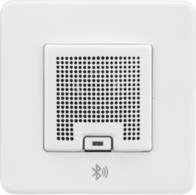 Knightsbridge Screwless Matt White 3W RMS Bluetooth Speaker Outlet SFBLUEMW