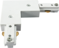 Knightsbridge TRKRAW 230v track L Right Angle connector White.