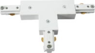 Knightsbridge TRKTW 230v track T connector White.