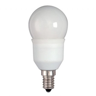BELL LIghting Energy Saving Golf Ball Bulbs 7w Small Edison Cap 00766