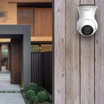 Link2Home L2H-ODRCAMERAP/T Outdoor Wi-Fi camera with pan/tilt image 1