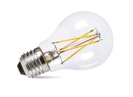 LED Cool White Dimmable Filament 100w Equivalent GLS Lamp ES - AX503