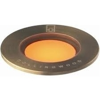 LED Ground Light 1w Antique Brass Small Recessed GL018C AB