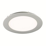 LED Recessed Flat Panel Downlighters 11w Round c/w Diffuser PNLDL11CW