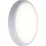 Knightsbridge 9w CCT Adjustable LED Bulkhead with Emergency and Sensor - BT9CTEMS