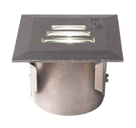 LED Square Slotted Ground Light 1w GL022