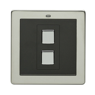 LightwaveRF Wire Free Dimmer Switch Stainless Steel JSJSLW201SS
