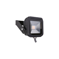 Luceco Slimline Guardian Floodlight 8W  Black FloodLight LFS6B1