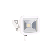 Luceco Slimline Guardian Floodlight 8W   White FloodLight LFS6W1