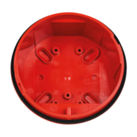 MAG Fire Alarms Deep Red Base for Banshee Sounders IP66 BA-DB