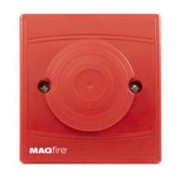 MAG Fire Alarms Bedhead Conventional Sounder Red Flush Mount MAGBSR