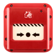 Mag Fire Alarms Red Call Point IP67 SCP2RIP67