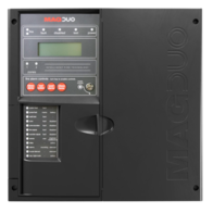 MAGDUO Fire Alarms Black 2 Zone Panel MAGDUO2B