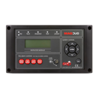 MAGDUO Fire Alarms Black Repeater Panel MAGDUOREPB