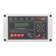 MAGDUO Fire Alarms Repeater Panel MAGDUOREP