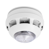 MAGDUO Fire Alarms Smoke Heat Detector with Sounder and Strobe MAGDUOSHDSS