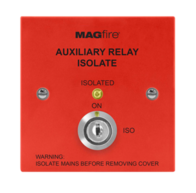 MAGFIRE Fire Alarms Red Auxiliary Isolation Switch MAGAUXISORP