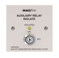 MAGFIRE Fire Alarms White Auxiliary Isolation Switch MAGAUXISOWP