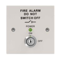 MAGFIRE White Fire Isolation Switch MAGISOWP