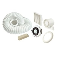 Manrose Showerlite Fan Kit Timed Shower light fan - VSL100TC