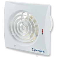 Monsoon Zone 1 Silence Pull Cord Extractor Fan MON-S100PC