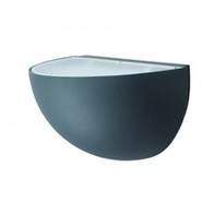 NiteLED Quarter Sphere Wall Light 10.5w Black JC39408