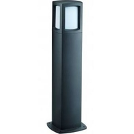 NiteLED Square Bollard 6w LED Black JC39405